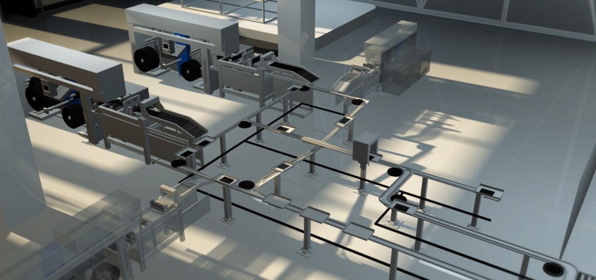 Digital Composite Manufacturing Line of Airborne and SABIC
